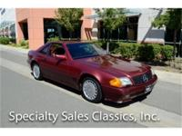 This 1990 Mercedes 300SL (Stock # B1745) is available