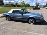 1990 Fox Body Mustang Convertible, 25th Anniversary