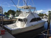 1990 Ocean Yachts 48 is a very clean fishing and