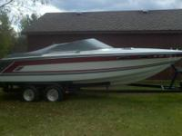 1990 Powerquest 222 Spectra XL is  a 22.5 foot boat