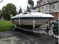 1990 Raven Boatworks 2250 Cuddy Cabin with a 4.3L V6