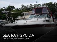 1990 Sea Ray 270 DA - Stock #087228 -