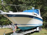 1990 Sea Ray 270 Sundancer Features: Twin 4.3 L