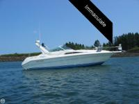 1990 Sea Ray 310 Sundancer powered by Twin Mercruiser
