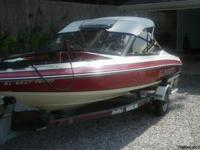 this boat is ready to go , 16 ft , live well , trolling