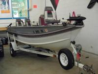 Description Fully Loaded 16 ft Tiller Fishing Rig! 1990