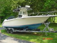 1990 Wahoo 2600 EFS ....COMPLETELY refurbished - new
