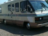 1990 Winnebago Cheiftain 27' on a chey chasssie