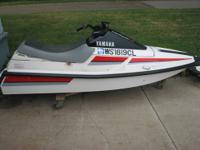 We have two 1990 Waverunner jetskis. One of the jetskis