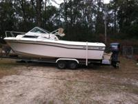 . 24 ft Grady white. 1990 225 Yamaha wth jst over 500