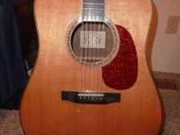 1990's Larrivee D-60 Guitar, with an Eagle inlay on the