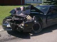 Earlier this summer i crashed this beautiful firebird