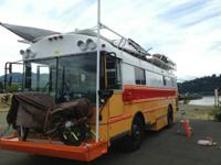 Type of RV: Bus conversion Year: 1991 Make: Thomas