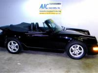 1991 Porsche 911 Carrera-2 Cabriolet, Triple Black,