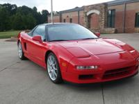 1991 Acura NSX in the best color it comes in..Red! This
