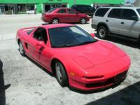 1991 Acura NSX with 50k original miles, all Original,