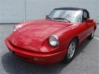This is a Alfa Romeo Spider for sale by Paramount