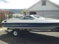 I have a wonderful 1991 Bayliner 18 foot open bow boat.