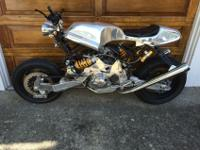 This Bimota Tesi is extremely rare. This 1/D ES model