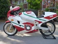 The YB8 represents the development of Bimota with the