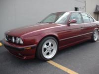 This is truly a Unique E34 M5!   It has a brand new