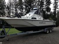 1991 Boston Whaler 25' Outrage, twin 2010 Suzuki 175