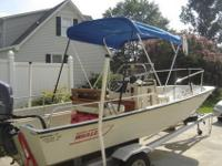1991 Boston Whaler Montauk. I am the first owner. The
