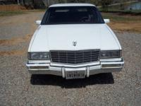 This is a nice old Cadillac, 1991 Deville with onkly