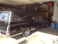 For sale - 1991 Cadillac Federal Hearse - in GREAT