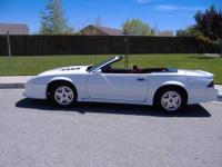 I have a nice 91 Camaro convertible for sale with a