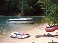 1991 Chaparral 21 foot boat. Cuddy Cabin sleeps