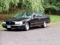 1991 Chevrolet Caprice Classic. Black , Impala SS look