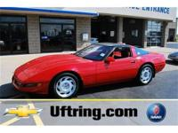 This 1991 Corvette ZR1 is a great collectors car or