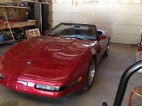 1991 Chevrolet Corvette Convertible # 39. Richard. . I