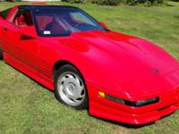 1991 Chevrolet Corvette ZR-1 Bright Red Glassurit