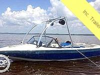 1991 CORRECT CRAFT SKI NAUTIQUE 19.5 FOR SALE !!! -