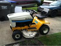I got a 1991 Cub Cadet 1315 I received as part of a
