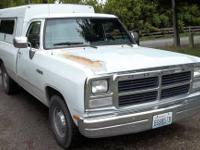 1991 Dodge Ram D150 Longbed 2wd 3.9 V6 Auto Gem Top. & 1984 Chevy S10 Durango 4x4 2.8 V6 auto long box canopy new ...