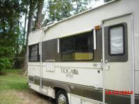 1991 Fleetwwod Tioga Class C. This motorhome is 23 feet