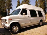 1991 Ford Econoline 250 Van Conversion Class B 1991