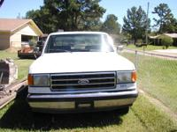 1991 Ford F-150 long wheel base with electric windows,