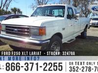 1991 Ford F-250 XLT Lariat Features: Turbo Diesel - 2