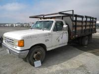 1991 Ford F-800 Bucket Truck Ford diesel engine, auto