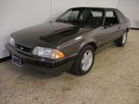 1991 Ford Mustang LX. 5.0 V8 engine, automatic