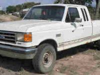 1991 FORD XLT Lariat F250 4 X 4 3/4 Ton Pick Up $1999