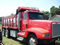 1991 Freightliner dump truck - newly floored bed, new