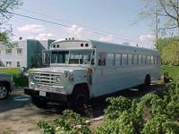 1991 GMC Bluebird 71 pass. school bus. Taken out of