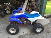 Excellent running quad with new brakes and tires.