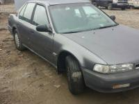 Parting out this 1991 Honda Accord. Offering all parts