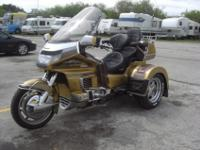 1991 HONDA GOLD WING MOTOR TRIKE SE CONVERSION.SOME